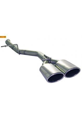 Einzelanfertigung Endrohrbogen für Mercedes Vito W639 111CDI - 2 ER 115x85mm oval