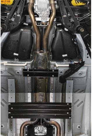 Einzelanfertigung Vorschalldämpfer für Chevrolet Camaro Cabrio LS3 L99 6.2l V8 ab Bj. 12