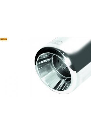 Ulter Sportauspuff 1 x 80mm dick eingerollt - Mitsubishi Carisma 1 Stufen- u. Schrägheck Bj. 95-99 1.6l 1.8l 1.9l TD