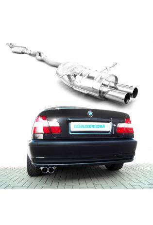 EISENMANN Komplettanlage ab Kat BMW 3er E46 316i bis 328i - 2 x 70mm