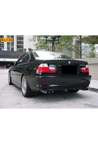 EISENMANN Komplettanlage ab Kat BMW 3er E46 Lim. Touring Coupe 316i bis 328i - rechts links je 2 x 70mm