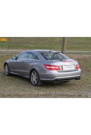EISENMANN RACE Sportauspuff u. Mittelschalldämpfer Mercedes Benz E-Klasse C207 Coupe E350 - rechts links je 2 x 120x77mm oval