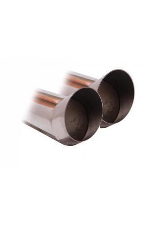 Skoda Fabia Typ 6Y  5J ab Bj. 00  1.0l  1.4l  1.6l  1.4l TDI  1.9l SDI  1.9l TDI  FOX Sportauspuff 2 x 76mm DTM  (RohrØ 50mm)