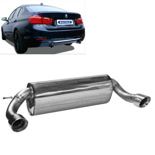 Bastuck Sportauspuff BMW 4er F32 420i 428i 435i - rechts links je 1 x 90mm schräg (RohrØ 76mm)