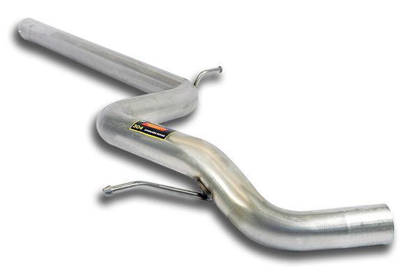 Supersprint Sportauspuff Mittelschalldämpferersatzrohr für Audi A3 8V 1.8 TFSI