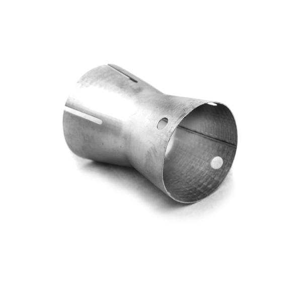 Universal Edelstahl DB Reduzierer Ø 76mm  passend in ein 76mm Rohr mit einer Wandstärke von 1,5mm