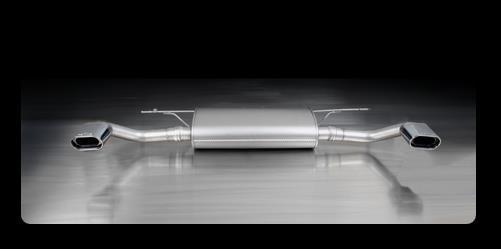 Remus Duplex Sportschalldämpfer BMW X5 E70 li/re je 1x 135x75 mm schräg