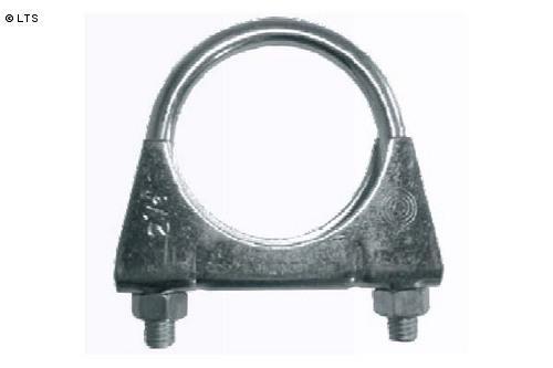 U-Bügelschelle Ø 42mm Normalstahl