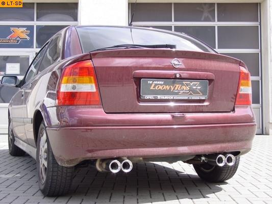 KLARIUS Auspuff SET NEU für Opel Astra G 1.4 16V Astra H 1.2 1.4 VSD+NSD