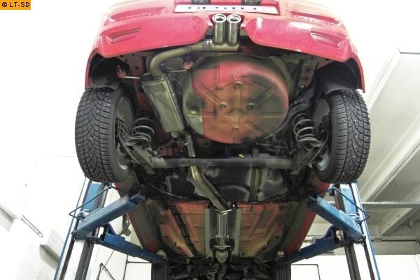 Einzelanfertigung Sportauspuff Komplettanlage Ab Kat Fur Opel Astra H Opc 2 0 Turbo